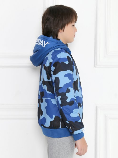Куртка двухсторонняя с капюшоном - МодельВерхНиз2