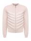 Куртка трикотажная со стеганой вставкой Moncler  –  Общий вид