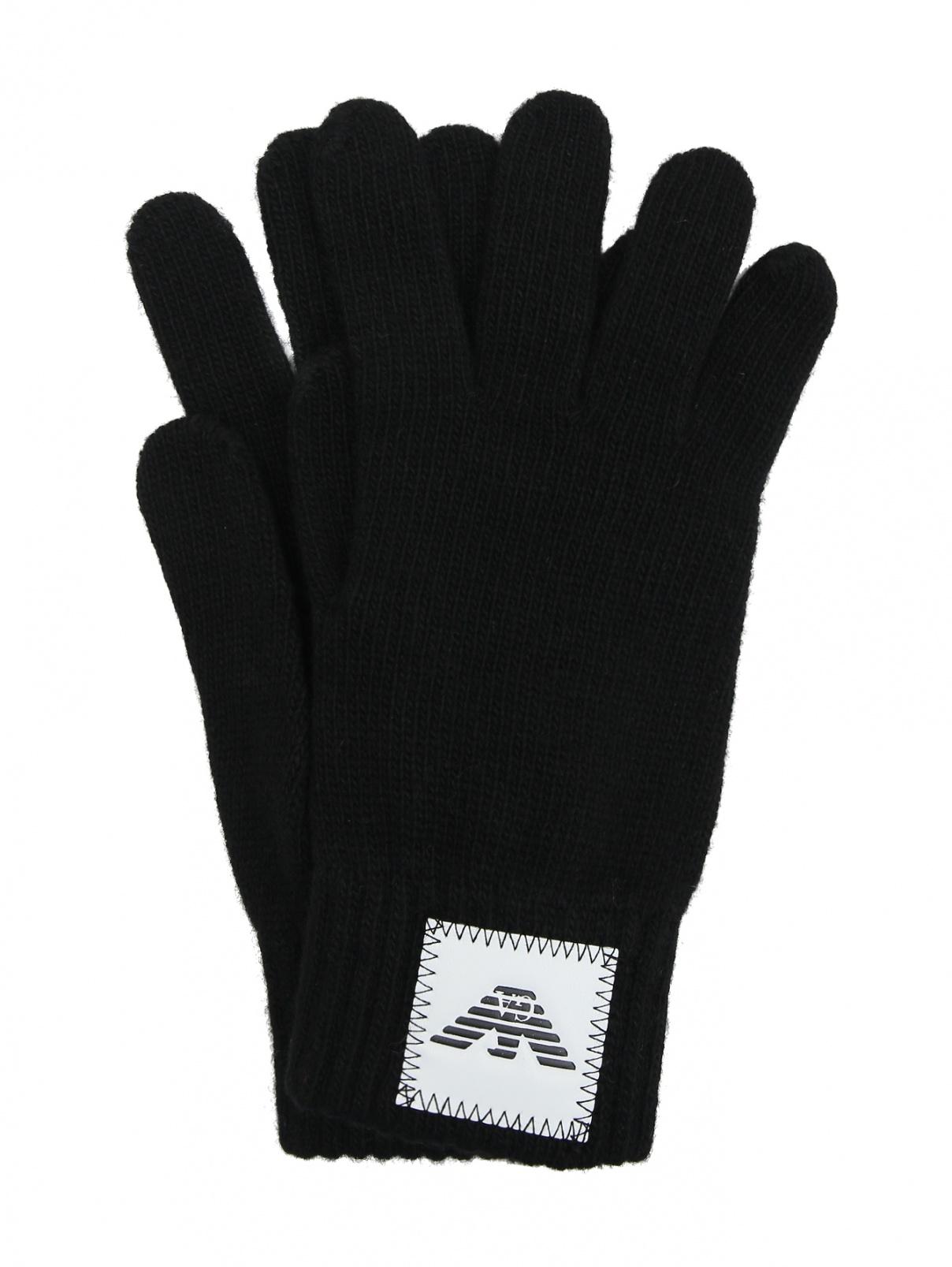 Перчатки с нашивкой Emporio Armani  –  Общий вид