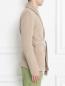 Пиджак трикотажный из шерсти и хлопка LARDINI  –  МодельВерхНиз2