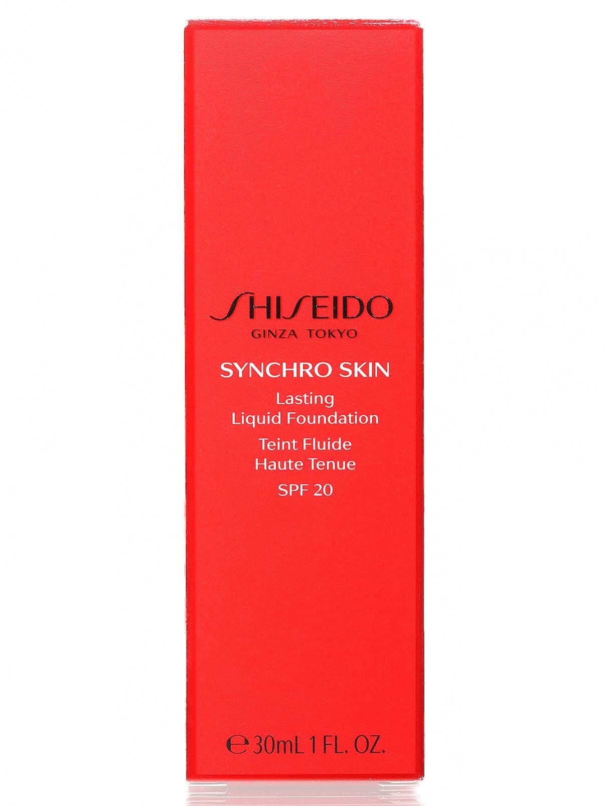 Тональное средство - Golden 3, Synchro Skin, 30ml Shiseido  –  Модель Общий вид