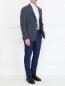 Пиджак с узором из шерсти и шелка Andrea Neri  –  Модель Общий вид