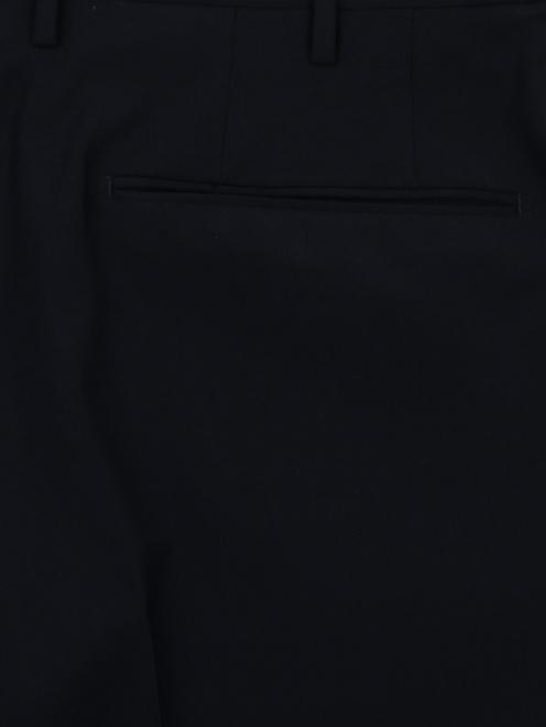 Брюки прямого кроя из шерсти Incotex - Деталь
