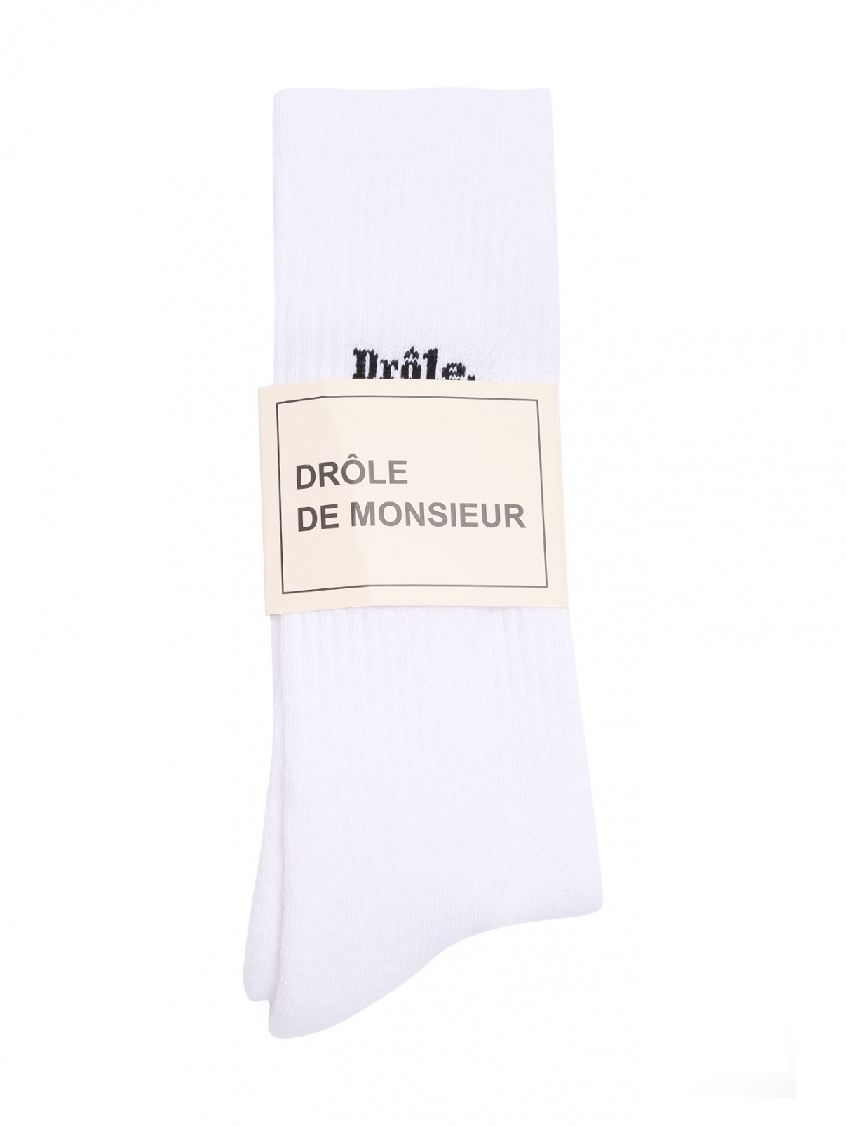 Носки из хлопка с узором DrOle de Monsieur  –  Общий вид