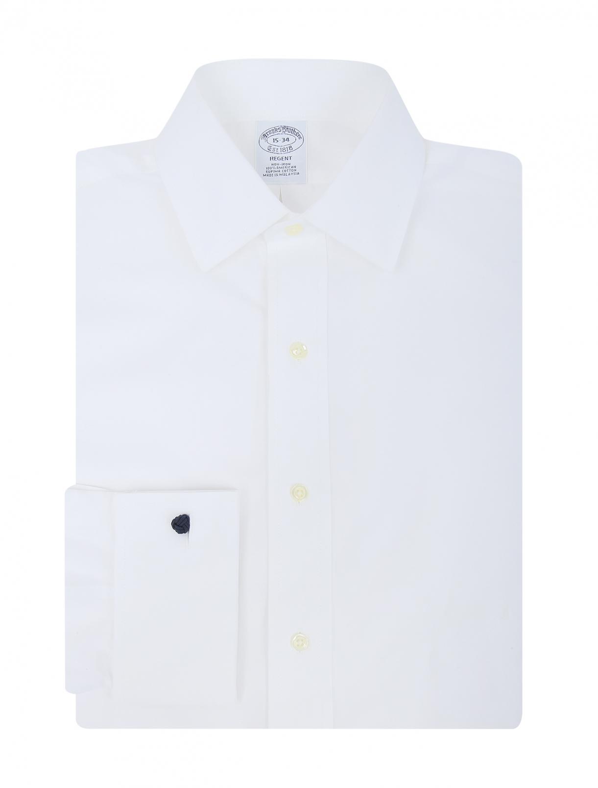 Рубашка из хлопка Brooks Brothers  –  Общий вид