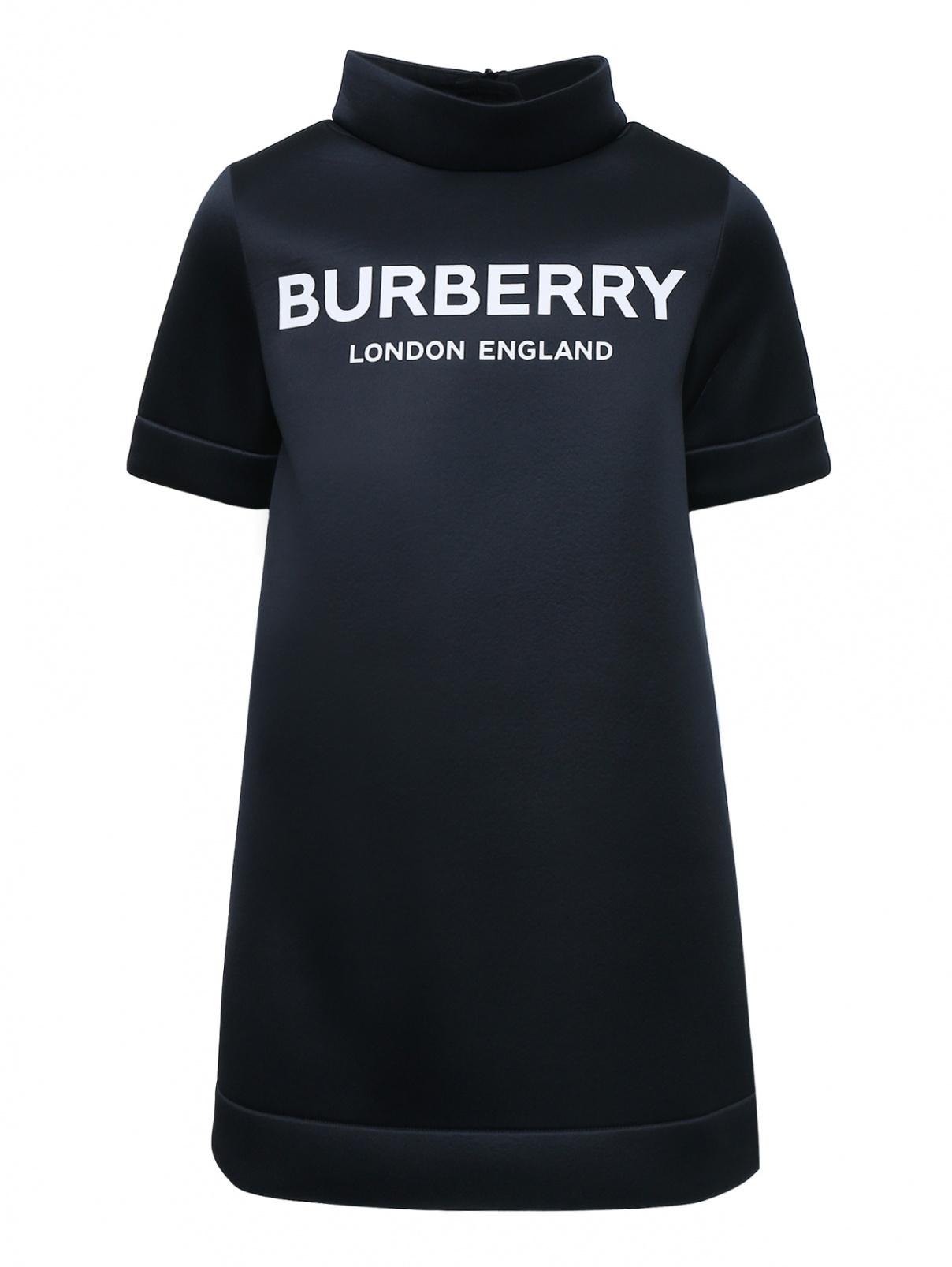 Платье из неопрена с принтом Burberry  –  Общий вид