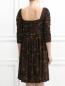 Платье-мини с узором Philosophy di Alberta Ferretti  –  Модель Верх-Низ1
