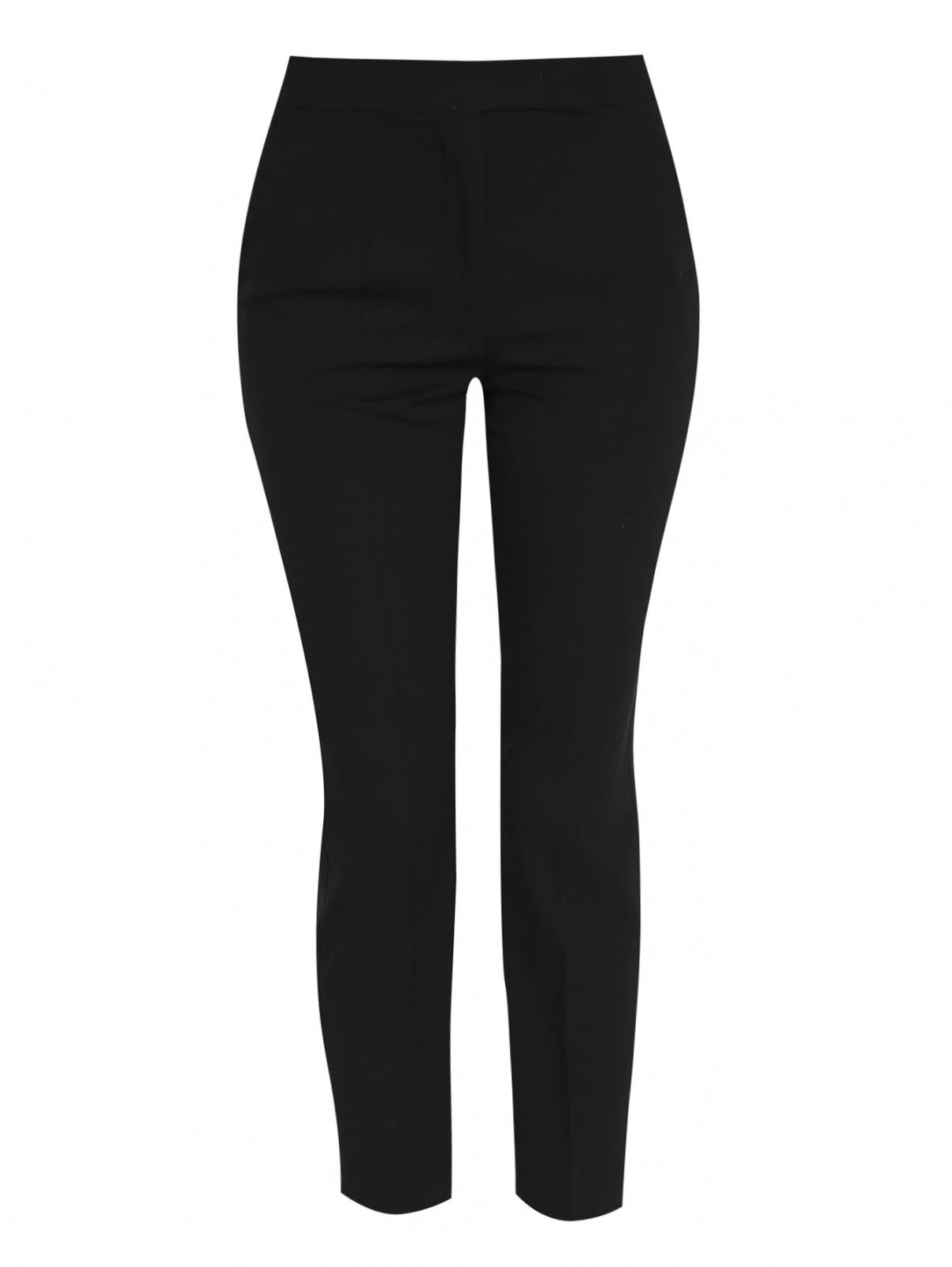 Укороченные брюки из шерсти с карманами Max Mara  –  Общий вид