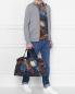 Дорожная сумка из хлопка с узором Paul Smith  –  МодельОбщийВид