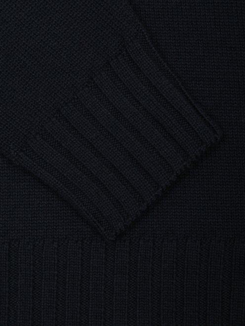 Водолазка из шерсти с узором - Деталь1