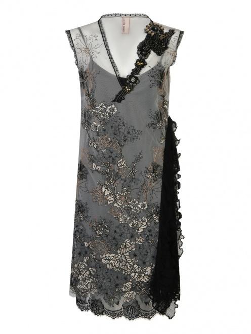 Платье с цветочным узором Antonio Marras - Общий вид