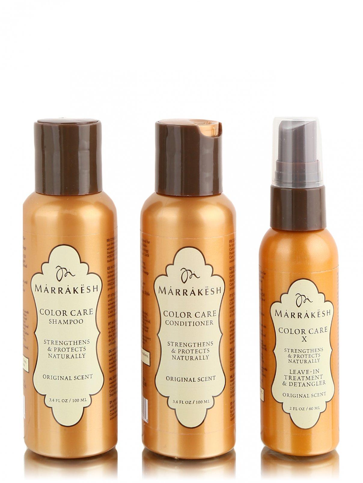 Набор для окрашенных волос 2х90 мл + 30 мл Hair Care Marrakesh  –  Общий вид