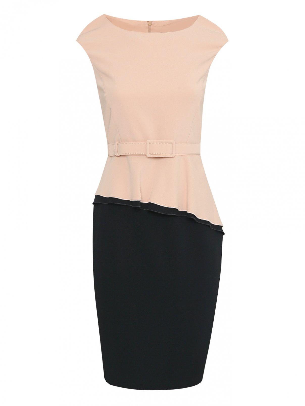 Платье-футляр с баской Max Mara  –  Общий вид
