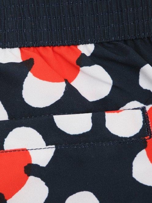Плавки-шорты с узором - Деталь1