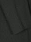 Однобортный пиджак из шерсти и шелка Emporio Armani  –  Деталь
