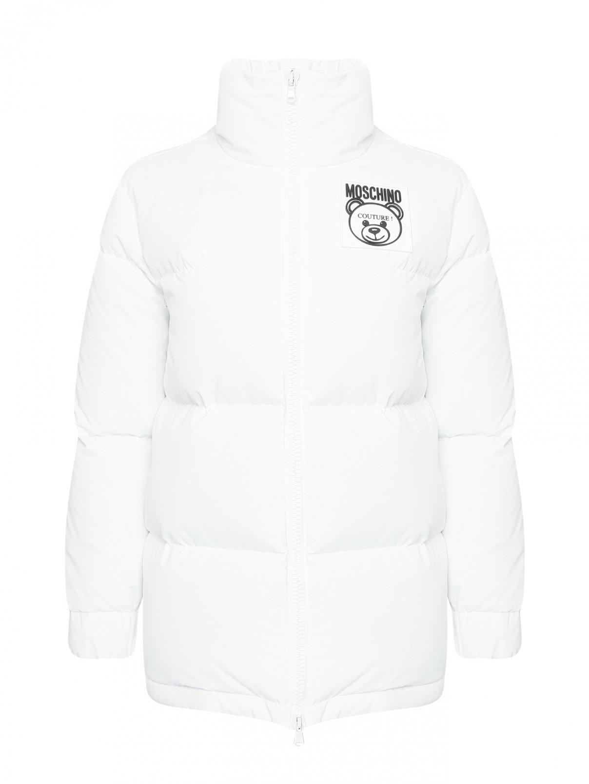 Куртка на молнии с карманами Moschino  –  Общий вид