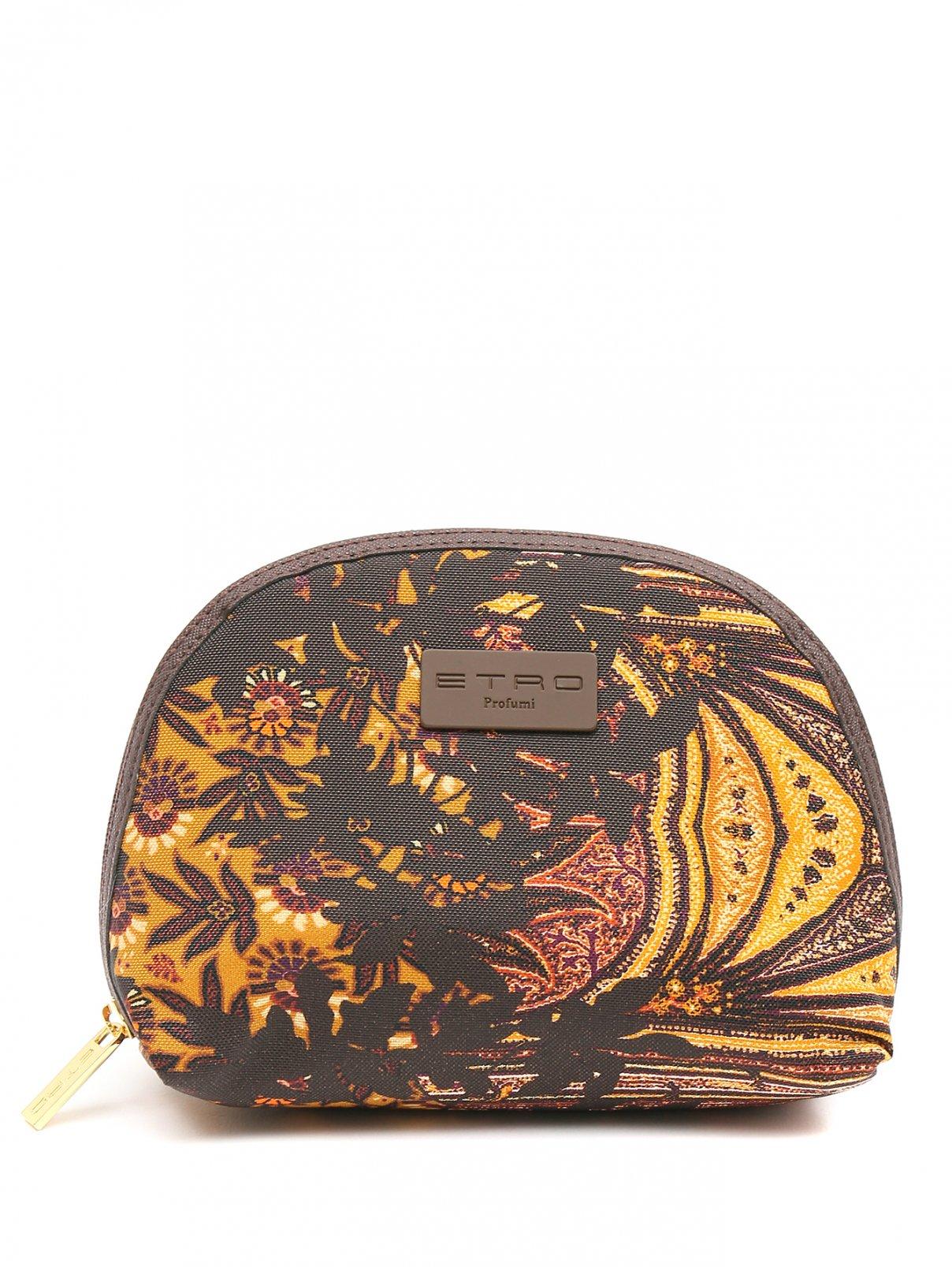Косметичка из текстиля с узором Etro  –  Общий вид