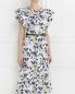 Платье с воланом и накладными карманами Raoul  –  Модель Верх-Низ
