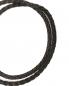 Браслет плетеный из кожи со вставкой из серебра Tateossian  –  Деталь1