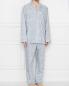Пижама хлопковая с цветочным узором Zimmerli  –  МодельОбщийВид1