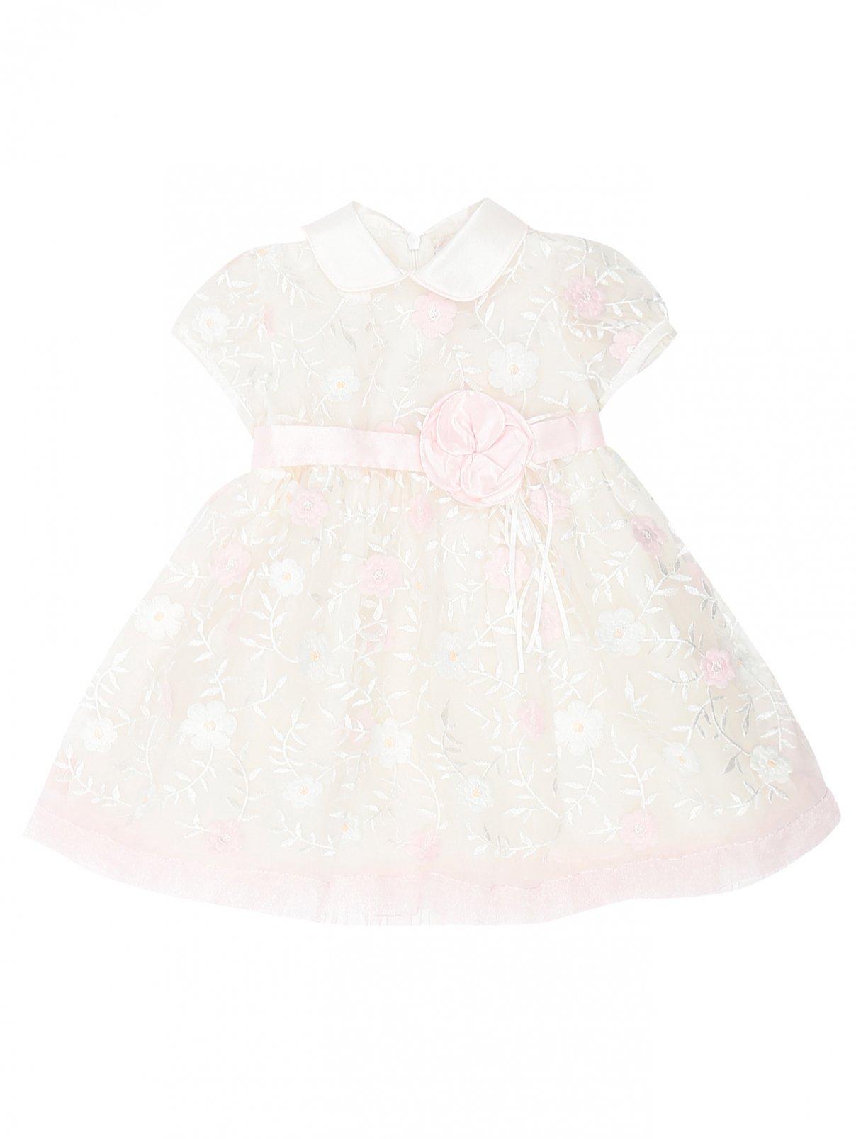 Платье из хлопка с вышивкой Aletta  –  Общий вид