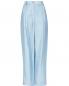 Свободные брюки из льна с защипами Emporio Armani  –  Общий вид