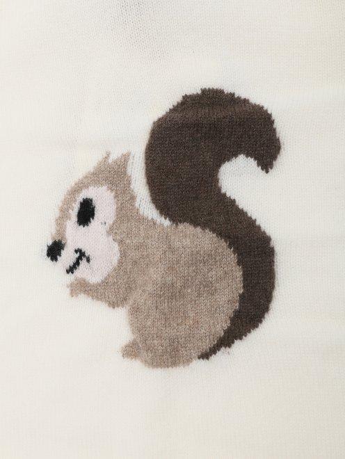 Костюм из кашемира с рисунком Kyo - Деталь1