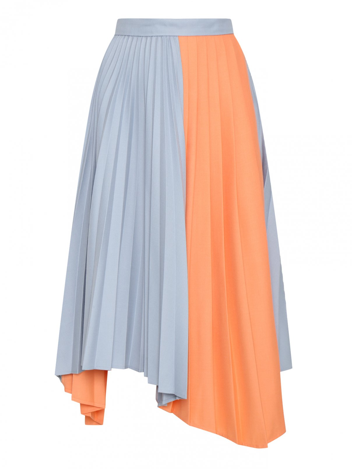 Плиссированная комбинированная юбка Max&Co  –  Общий вид