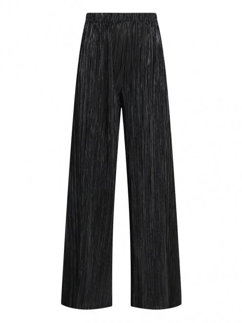 Плиссированные брюки на резинке - Общий вид