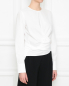 Рубашка из хлопка с ассиметричным кроем Alysi  –  МодельВерхНиз