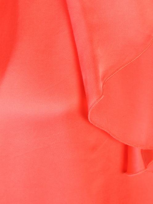 Блуза из вискозы с воланам DEHA - Деталь1
