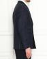 Двубортный пиджак из шерсти с узором клетка Belvest  –  МодельВерхНиз2