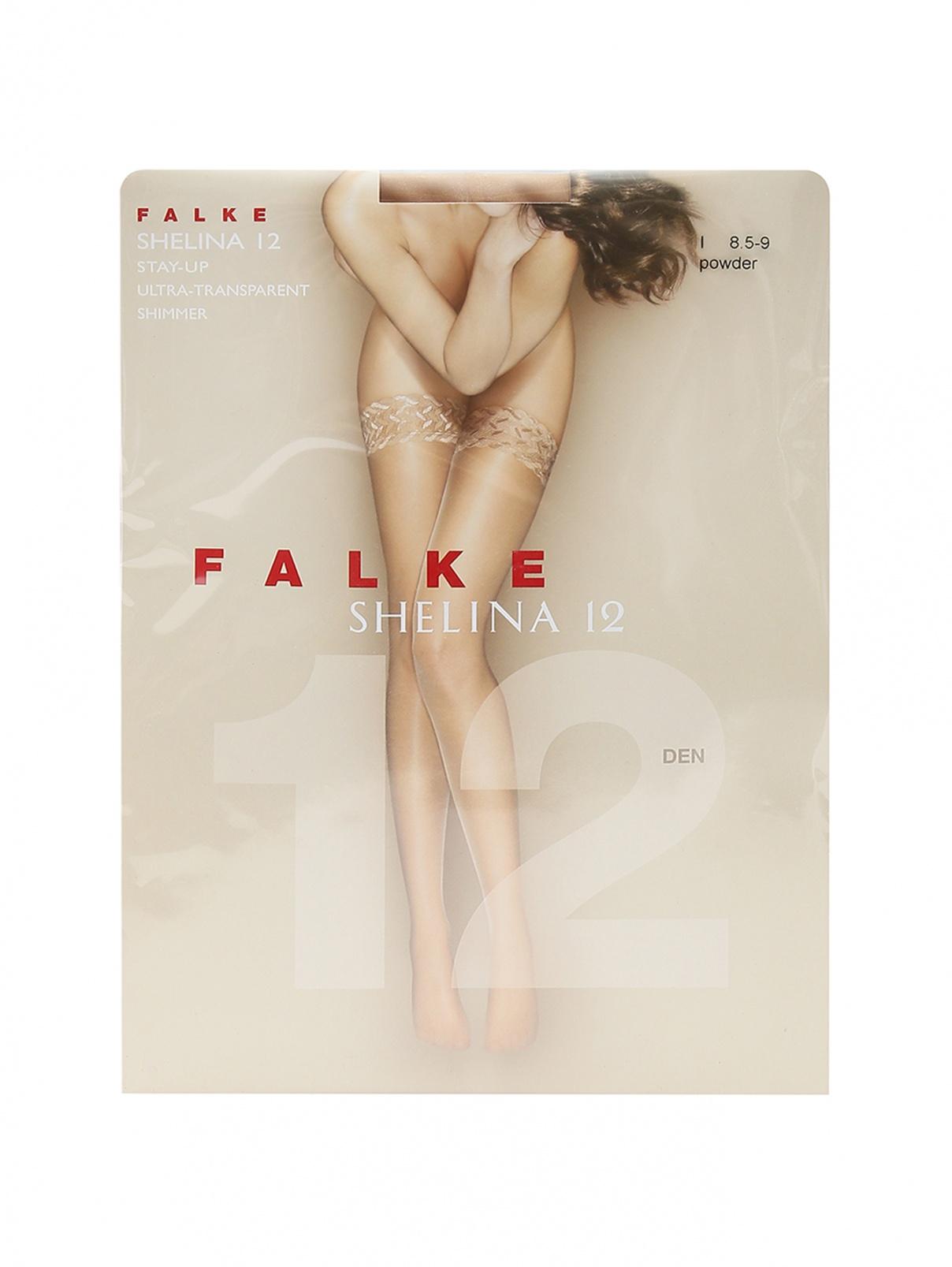 Чулки телесные 12 den Falke  –  Общий вид