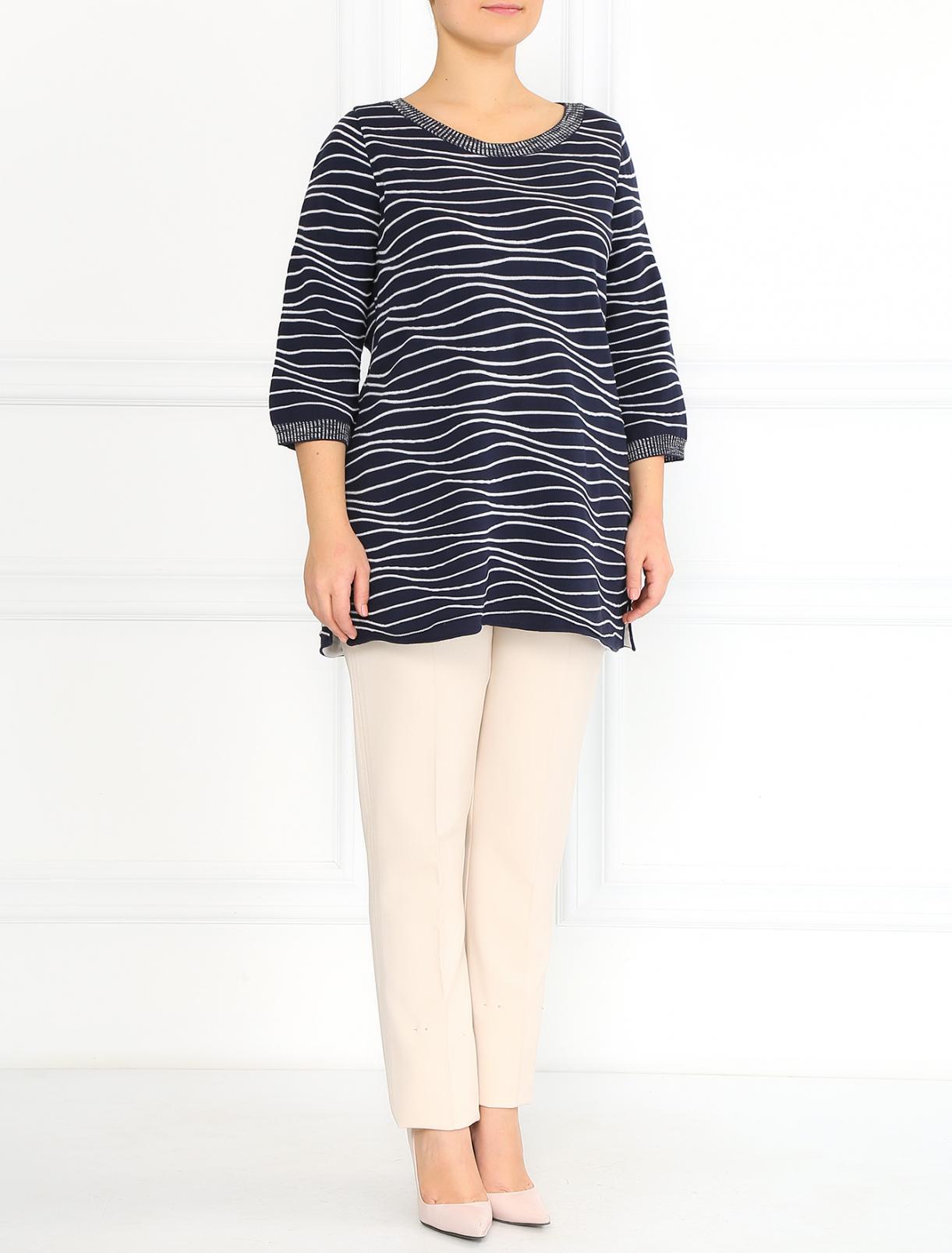 Джемпер из хлопка Marina Rinaldi  –  Модель Общий вид