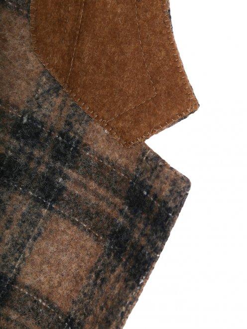 Пиджак из мягкой шерсти - Деталь