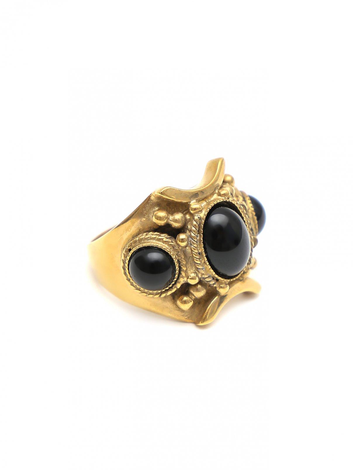 Кольцо из металла с камнем Etro  –  Общий вид