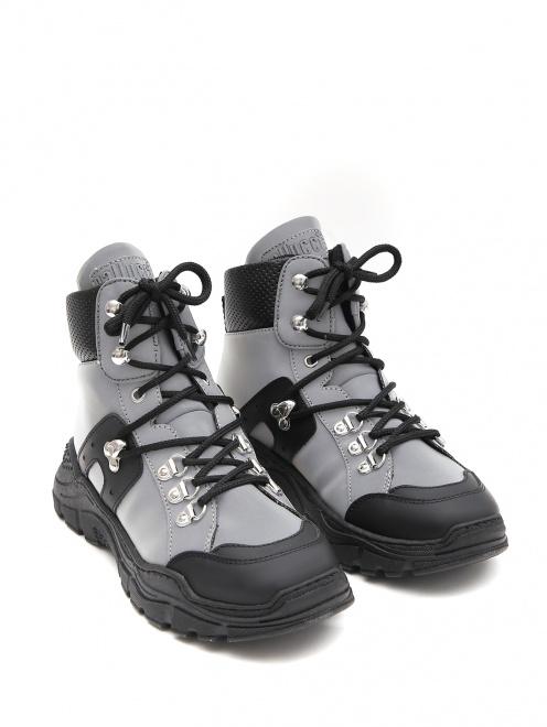 Ботинки на массивной подошве Gallucci - Общий вид