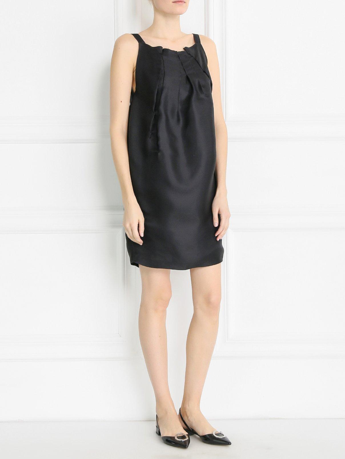 Платье из шелка свободного кроя Aquilano Rimondi  –  Модель Общий вид
