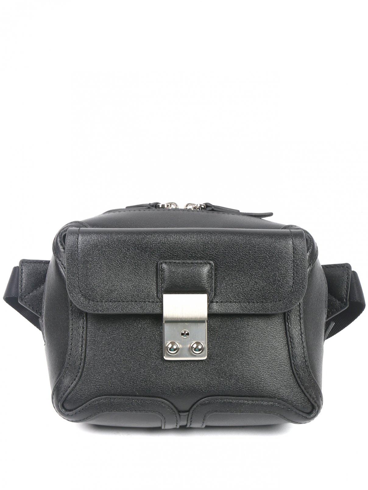Поясная сумка из кожи с металлической фурнитурой 3.1 Phillip Lim  –  Общий вид