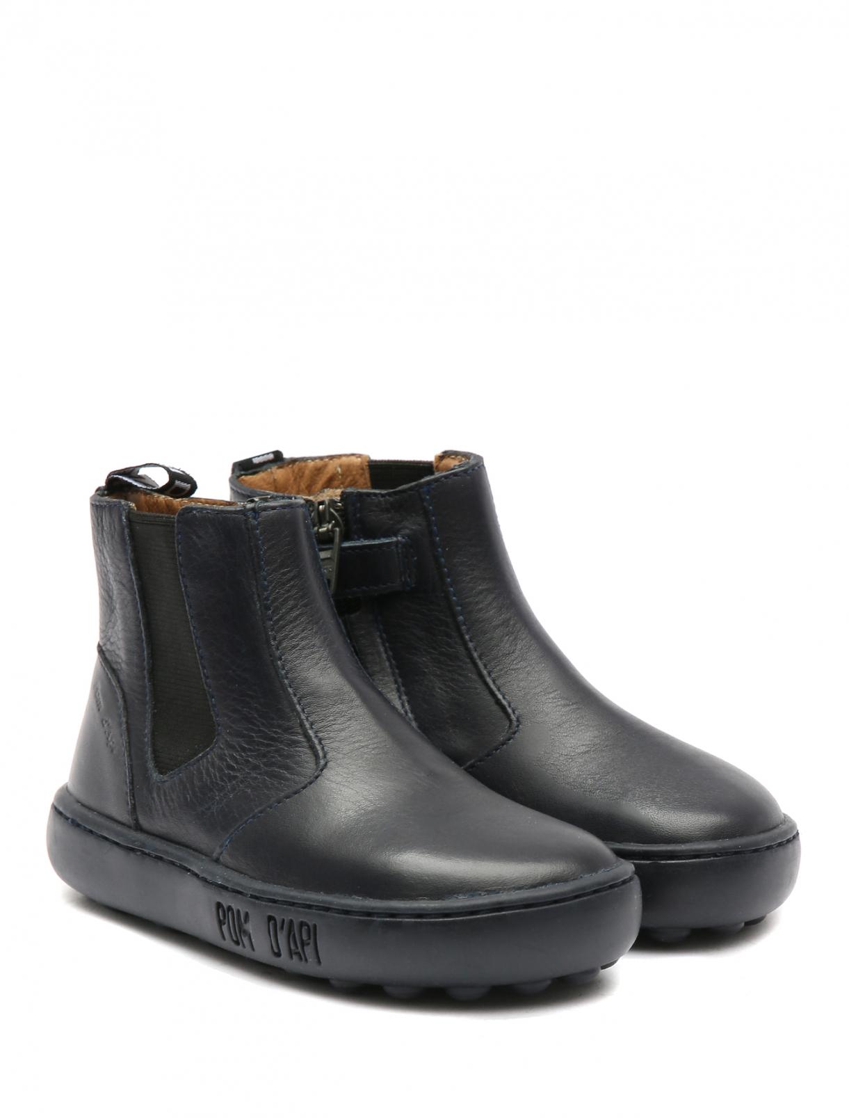 Ботинки из кожи на молнии Pom d'Api  –  Общий вид