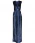 Платье макси в пайетках Elisabetta Franchi  –  Общий вид