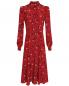 Шелковое платье миди с цветочным принтом P.A.R.O.S.H.  –  Общий вид