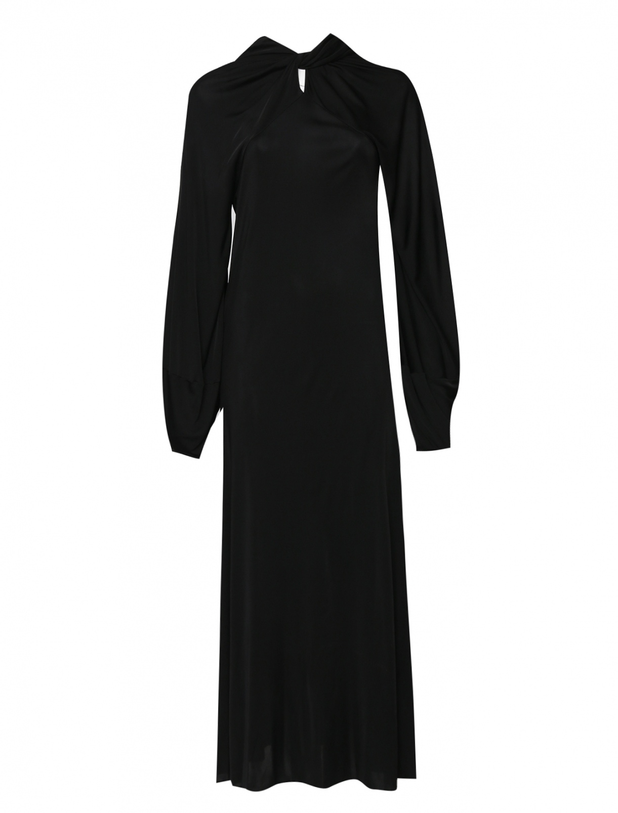 Платье из вискозы и шелка Maison Martin Margiela  –  Общий вид