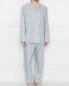 Пижама хлопковая с цветочным узором Zimmerli  –  МодельОбщийВид