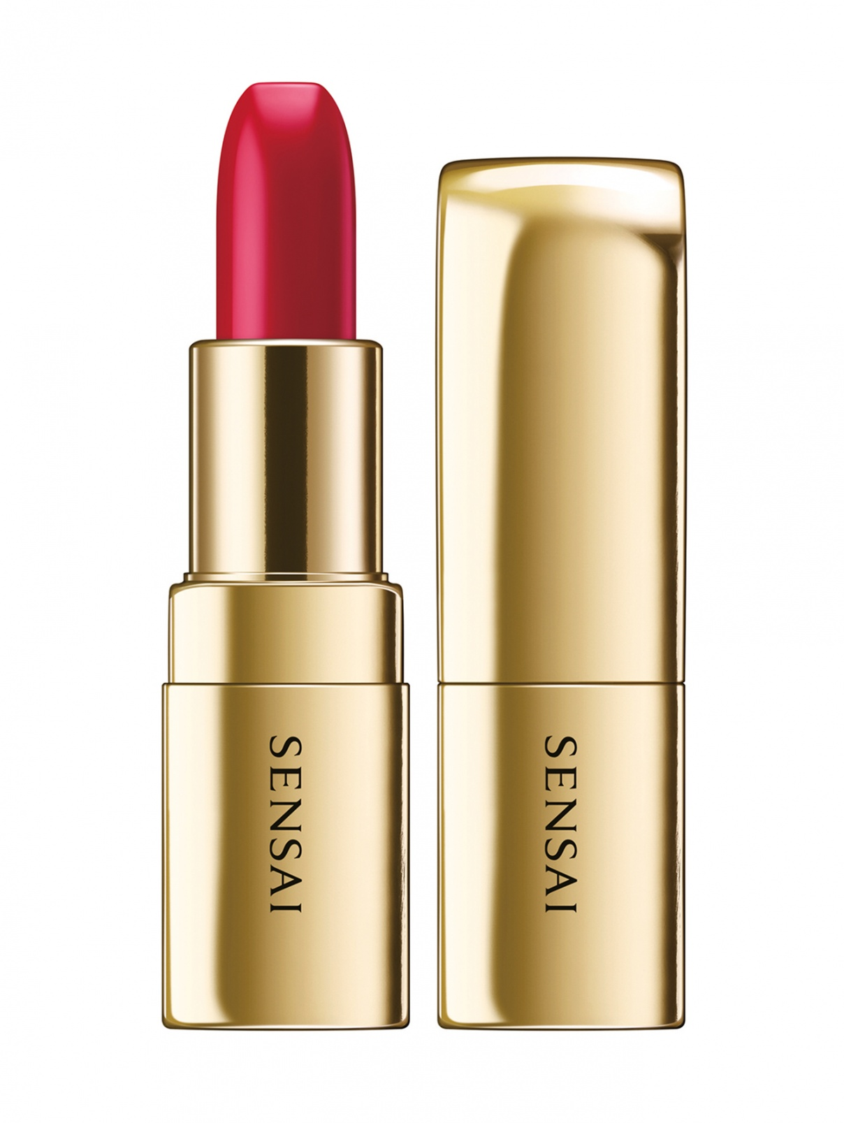 Помада The Lipstick оттенок - 01 SAKURA RED Makeup Sensai  –  Общий вид