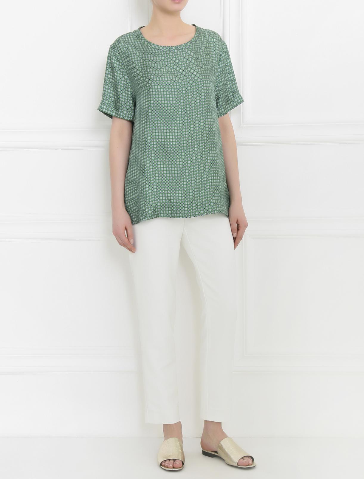 Укороченные брюки прямого кроя Keepsake  –  Модель Общий вид