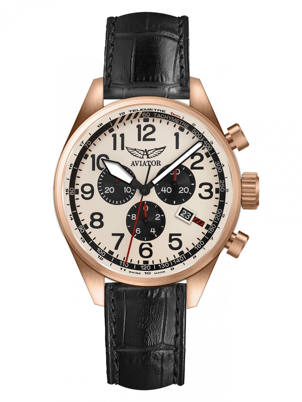 Часы V.2.25.2.173.4 Aviator  –  Общий вид