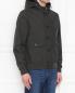 Куртка с капюшоном Moorer  –  МодельВерхНиз