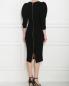 Платье из вискозы с объемными рукавами Rhea Costa  –  МодельВерхНиз1