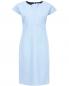 Платье-миди  свободного фасона из смешанного хлопка Jil Sander  –  Общий вид